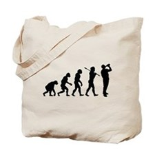 The Evolution Of Man Tote Bag