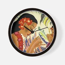 Frank Macintosh 'Angel Fish' Wall Clock