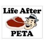 Life After PETA Small Poster