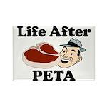 Life After PETA Rectangle Magnet (100 pack)
