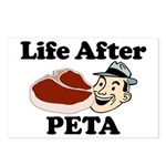 Life After PETA Postcards (Package of 8)