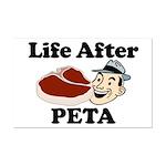 Life After PETA Mini Poster Print