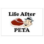 Life After PETA Large Poster