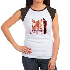 Zombie Funk Apocalypse Women's Cap Sleeve T-Shirt