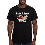 Life After PETA Men's Fitted T-Shirt (dark)