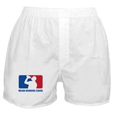 Major Drinking League Boxer Shorts