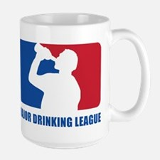 Major Drinking League Ceramic Mugs