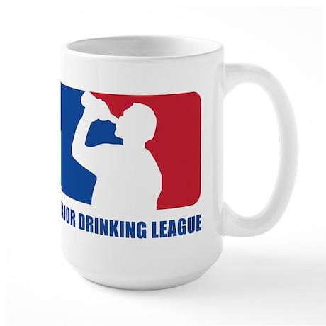 Major Drinking League Large Mug
