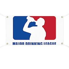 Major Drinking League Banner