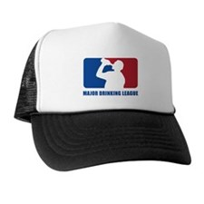 Major Drinking League Trucker Hat