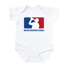 Major Drinking League Infant Bodysuit