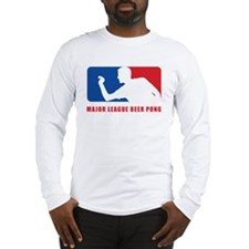 Major League Beer Pong Long Sleeve T-Shirt