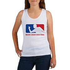 Major League Beer Pong Women's Tank Top