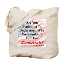 Are You Wising Up To Dems? Tote Bag
