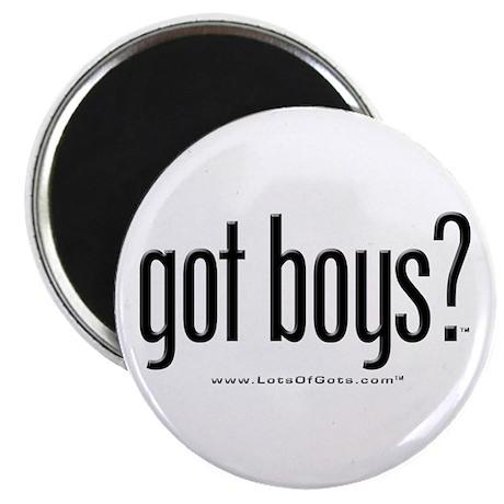 """got boys? 2.25"""" Magnet (10 pack)"""