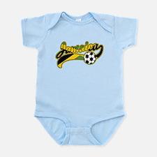 Jamaica Soccer Infant Bodysuit