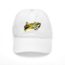 Jamaica Soccer Baseball Cap