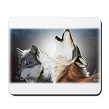 Wolf Face Mousepad