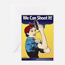 We Can Shoot It! Greeting Card