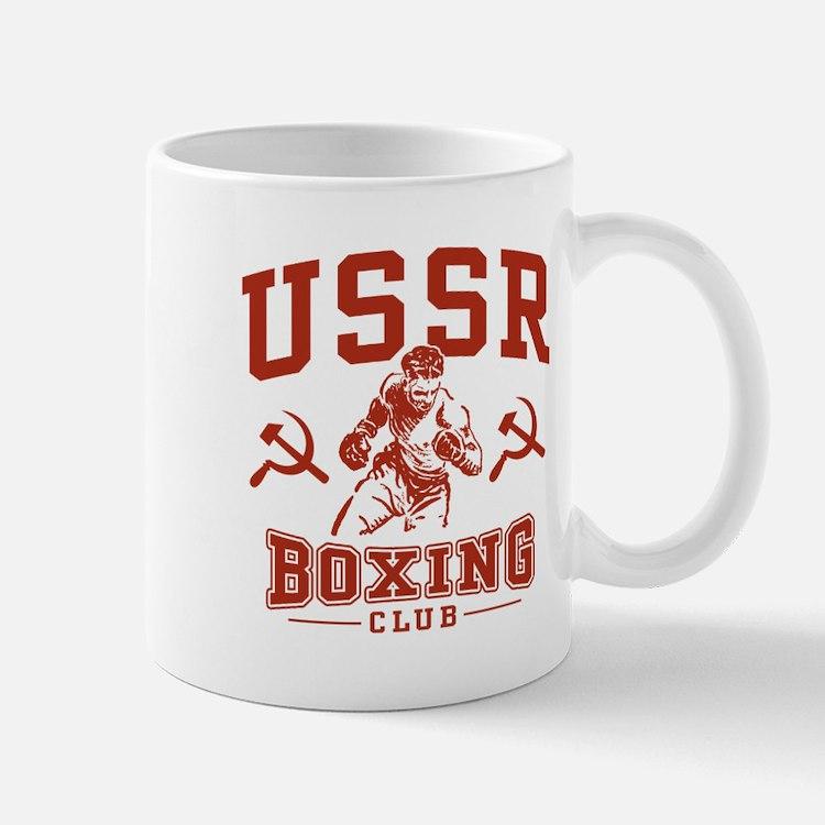 USSR Boxing Mug
