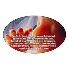 Genesis 9:5 Decal