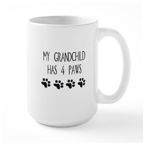 4 paws Large Mug
