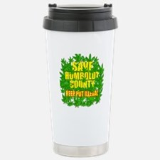Save Humboldt County Stainless Steel Travel Mug