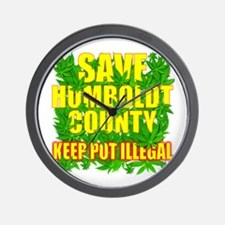 Save Humboldt County Wall Clock