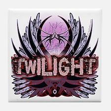 Twilight Native Indigo Tile Coaster