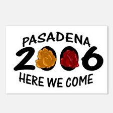 Pasadena Here We Come 2006 Postcards (Package of 8