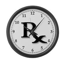 Pharmacy Clocks Large Wall Clock