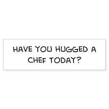 Hugged a Chef Bumper Bumper Sticker