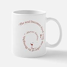 The soul becomes dyed with Mug