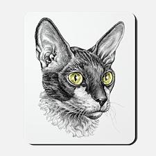 Cornish Rex Sketch Mousepad