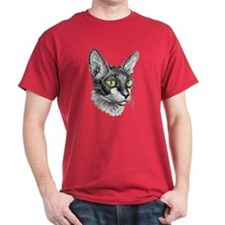 Cornish Rex Sketch T-Shirt