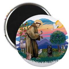 St Francis #2/ Schipperke #4 2.25