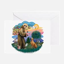 St Francis #2/ R Rback #2 Greeting Card