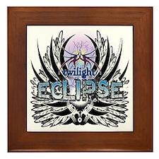 Twilight Eclipse Native Wings Framed Tile