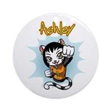 Ashley Punch Ornament (Round)