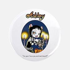 """Ashley Goth 3.5"""" Button"""