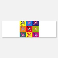 Pop Art Jabberwocky Bumper Bumper Sticker