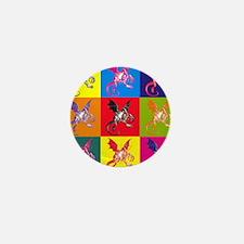 Pop Art Jabberwocky Mini Button
