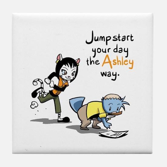 Jump Start Ashley Tile Coaster
