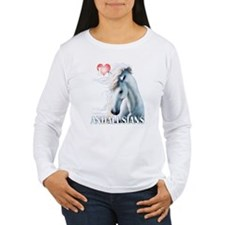 I Love Andalusians T-Shirt