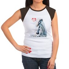 I Love Andalusians Women's Cap Sleeve T-Shirt
