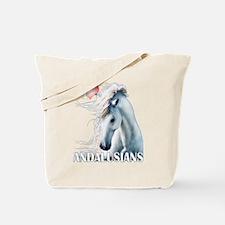 I Love Andalusians Tote Bag