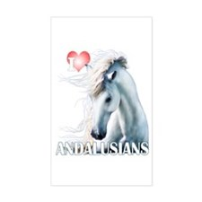 I Love Andalusians Decal