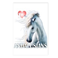 I Love Andalusians Postcards (Package of 8)