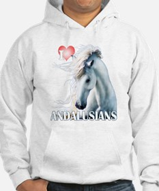 I Love Andalusians Hoodie