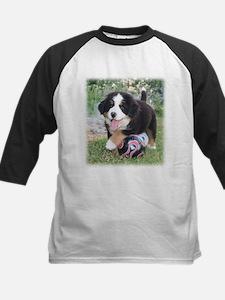 Soccer Berner Puppy Kids Baseball Jersey
